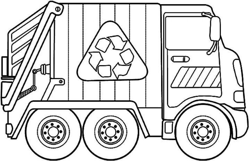 Garbage Truck Printable Coloring Pages  Garbage Truck Coloring Pages Coloring Home