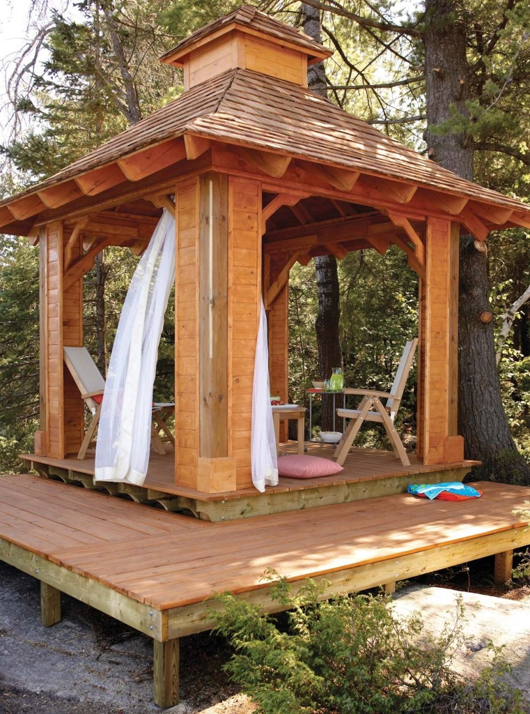 Best ideas about Gazebo Plans DIY . Save or Pin Free Gazebo Plans 14 DIY Ideas to Enjoy Outdoor Living Now.