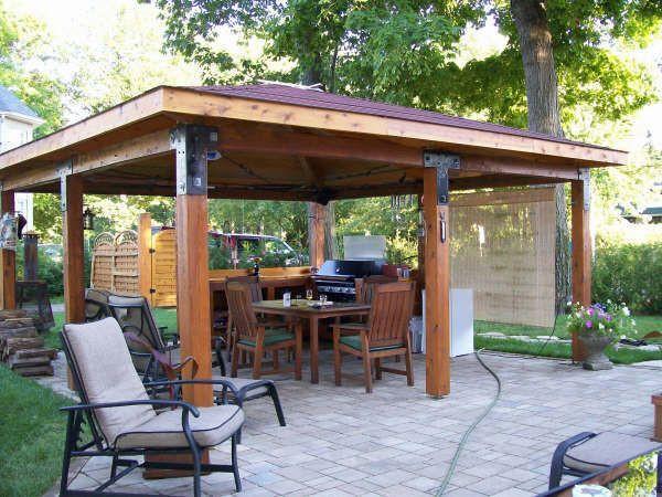 Best ideas about Gazebo Plans DIY . Save or Pin Log Gazebo Plans Back yard ideals Pinterest Now.