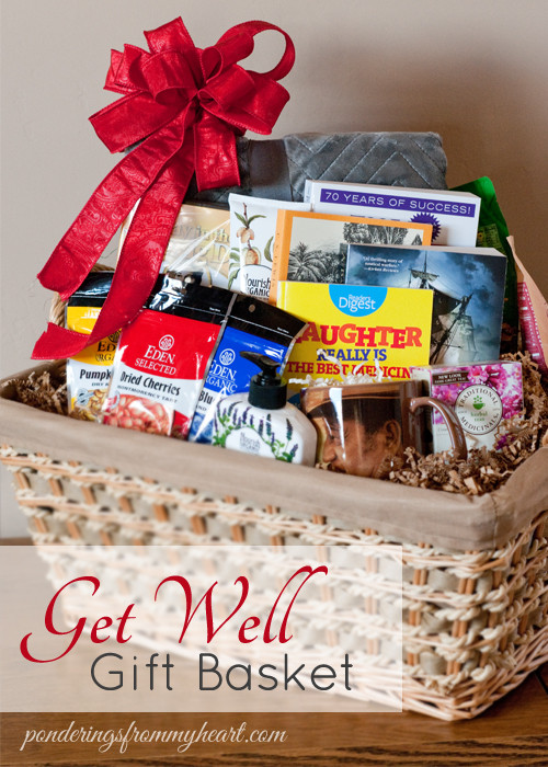 Get Well Gift Basket Ideas After Surgery  Get Well Gifts For Heart Patients Gift Ftempo