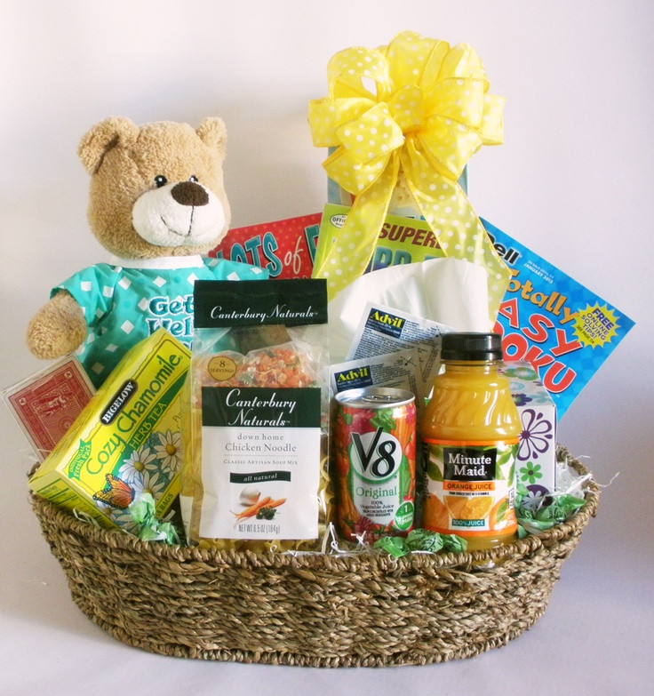 Get Well Gift Basket Ideas After Surgery  1000 ideas about Get Well Gifts on Pinterest