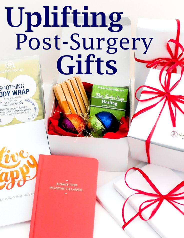 Get Well Gift Basket Ideas After Surgery  Introducing Goodbye Crutches Get Well Gift Collection