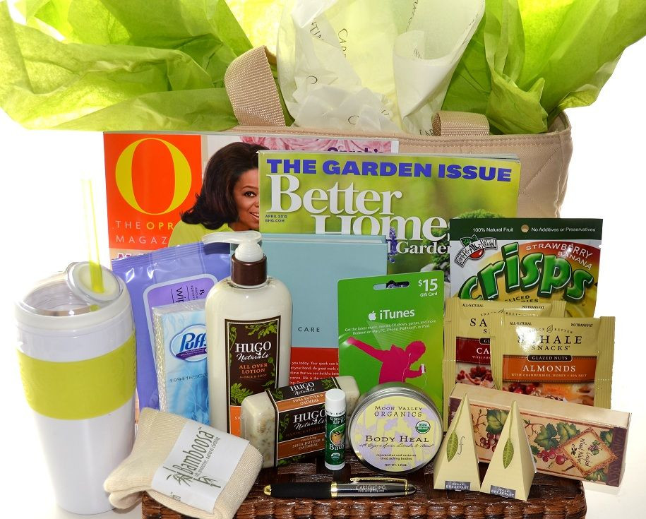 Get Well Gift Basket Ideas After Surgery  Women s Get Well Gift Basket Idea