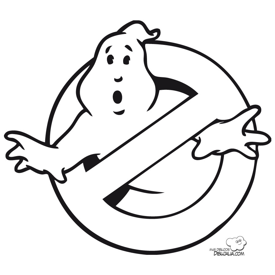Ghostbuster Coloring Pages  Ghostbusters Coloring Pages Free Coloring Home