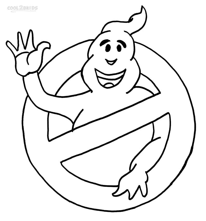 Ghostbuster Coloring Pages  Printable Ghostbusters Coloring Pages For Kids