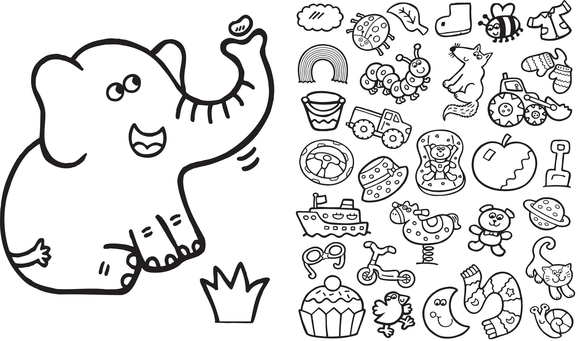 Giant Coloring Books For Toddlers  Big Coloring Pages For 13 Year Olds 11 Old Girls Free 6931