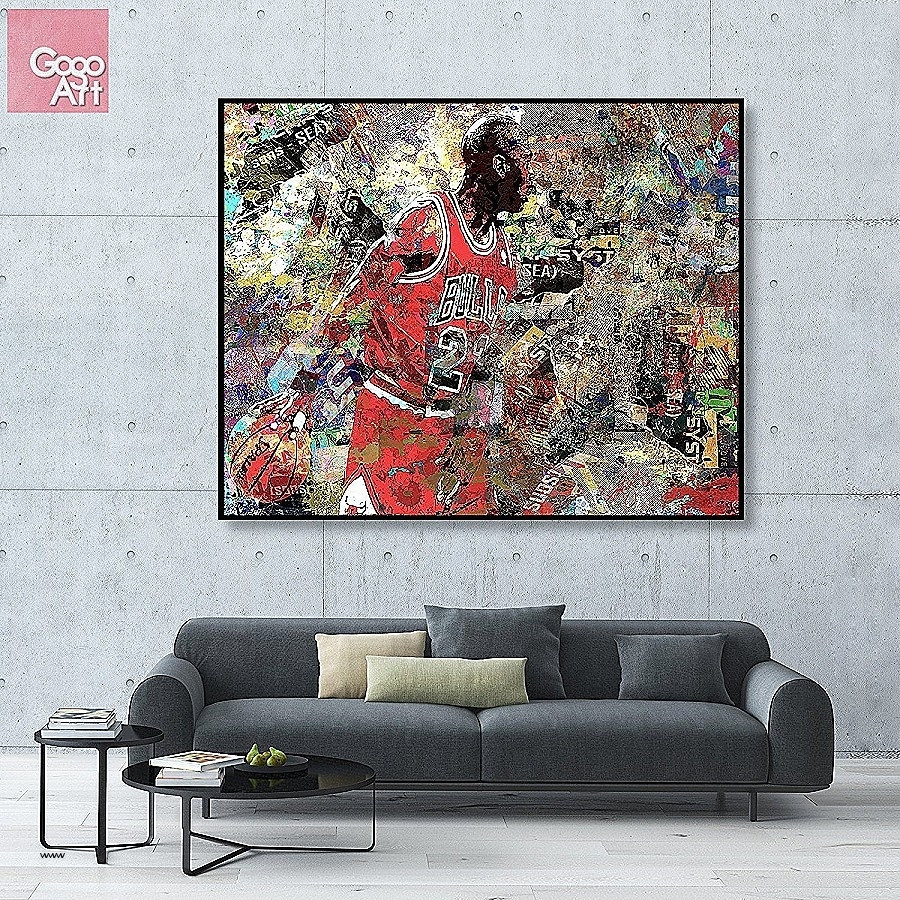 Best ideas about Giants Wall Art . Save or Pin 20 Inspirations of Giant Abstract Wall Art Now.
