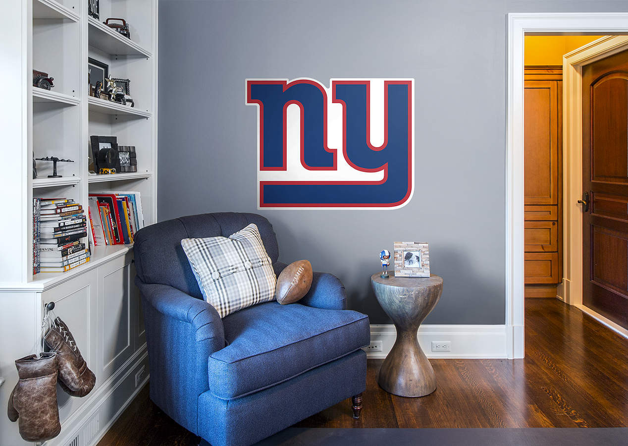 Best ideas about Giants Wall Art . Save or Pin New York Giants Logo Wall Decal Now.