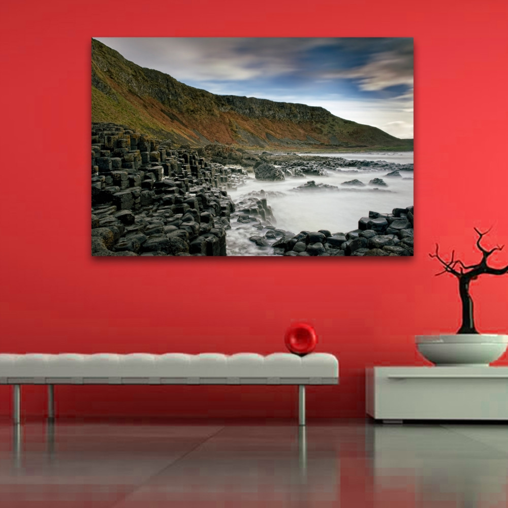 Best ideas about Giants Wall Art . Save or Pin Giants Causeway Colour Wall Art Now.