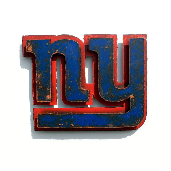 Best ideas about Giants Wall Art . Save or Pin New York Giants 3D wall art 20 wide metal emblem logo Now.