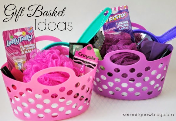 Gift Basket Ideas For Girls  Gift Basket Filler Ideas Little Girls Spa Serenity Now