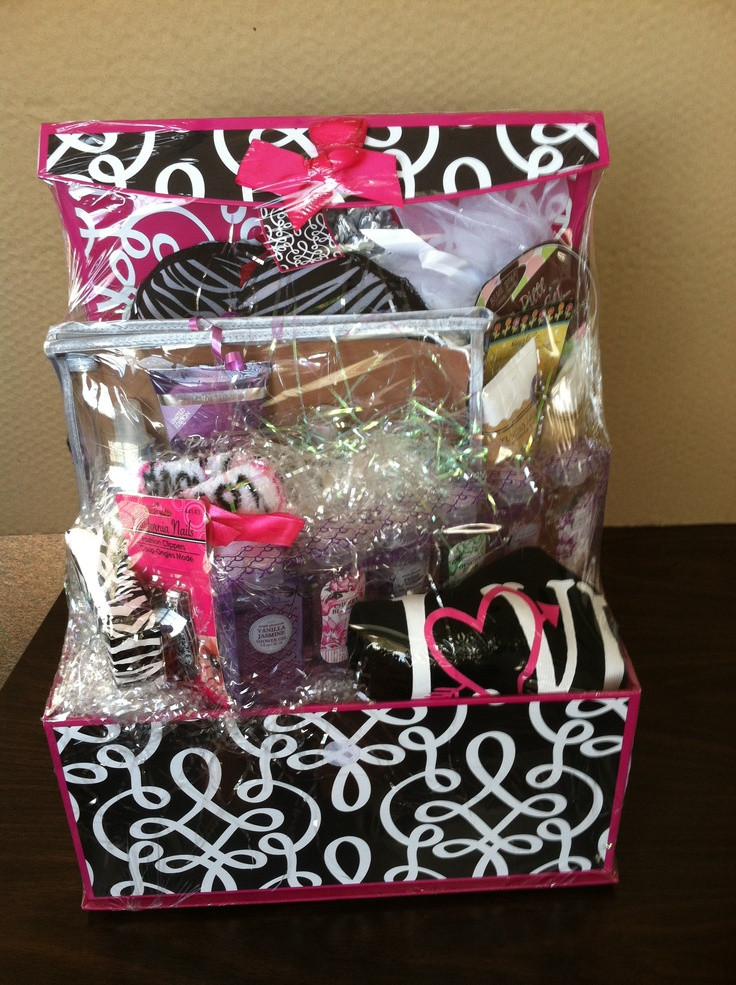 Best ideas about Gift Basket Ideas For Teenage Girls . Save or Pin 15 Best s of DIY Gift Baskets Ideas For Teenage Girls Now.