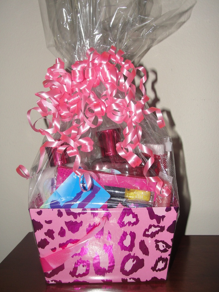 Best ideas about Gift Basket Ideas For Teenage Girls . Save or Pin 13 best images about Teen Girl Gift Baskets on Pinterest Now.