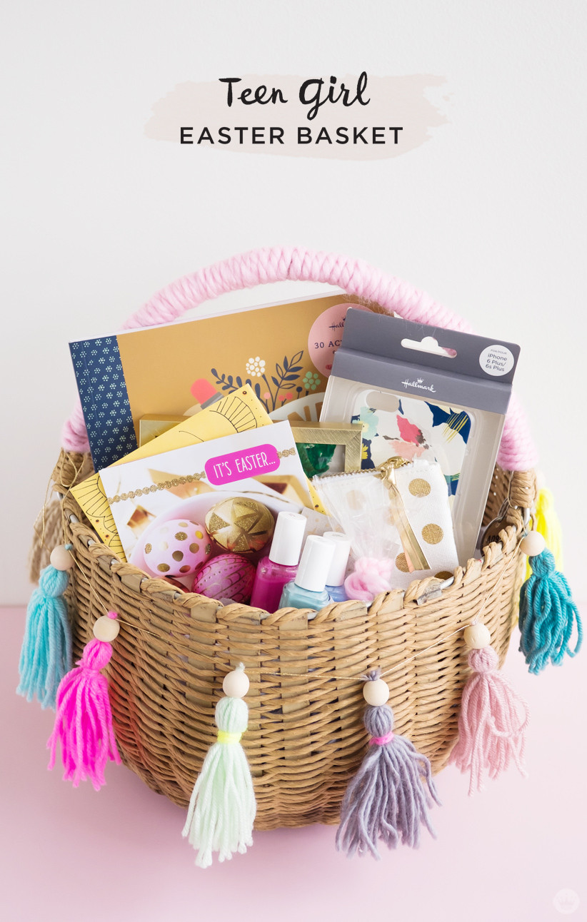 Best ideas about Gift Basket Ideas For Teenage Girls . Save or Pin Easter basket ideas for kids from toddlers to teens Now.