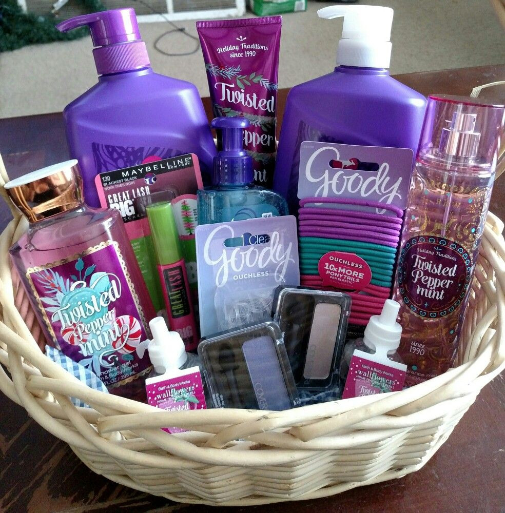 Best ideas about Gift Basket Ideas For Teenage Girls . Save or Pin Gift basket for a pre teen girl Now.
