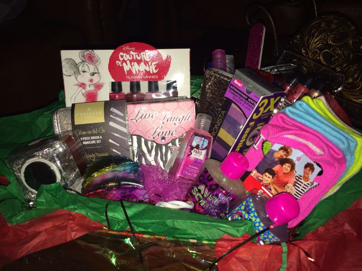 Best ideas about Gift Basket Ideas For Teenage Girls . Save or Pin Gift basket for teen girl allanahs birthday Now.