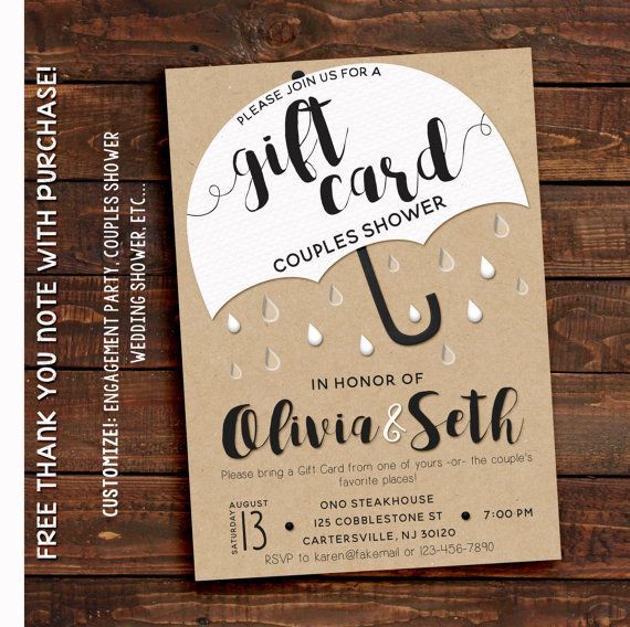 Best ideas about Gift Card Ideas For Couples . Save or Pin 7 best Gift Card Shower images on Pinterest Now.