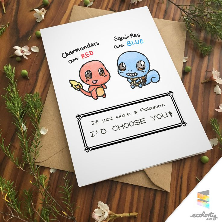 Best ideas about Gift Card Ideas For Couples . Save or Pin Best 25 Pokemon birthday card ideas on Pinterest Now.