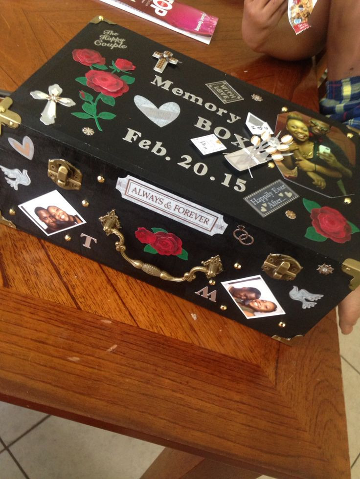 Best ideas about Gift Ideas Boyfriend . Save or Pin Memory Box Boyfriend going to college Gift for boyfriend Now.