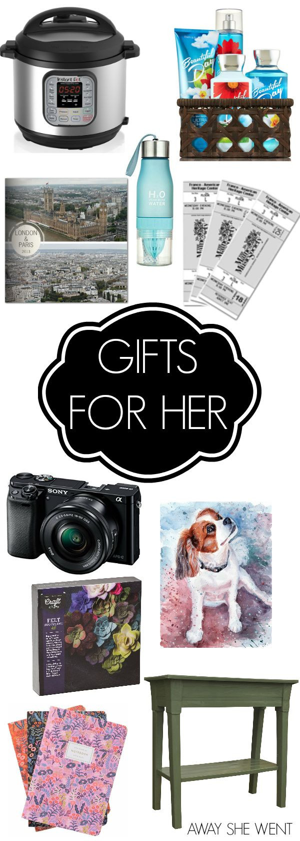 Gift Ideas Ex Girlfriend  25 unique Christmas ideas for her ideas on Pinterest