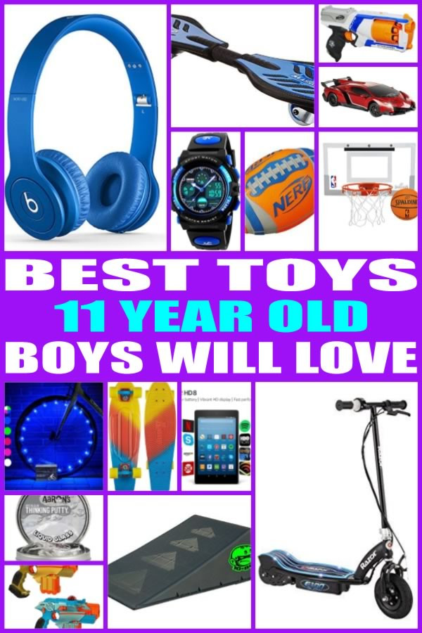 Gift Ideas For 11 Year Old Boys  Best Toys for 11 Year Old Boys