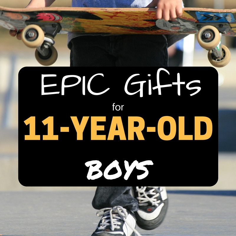 Gift Ideas For 11 Year Old Boys  EPIC Presents For 11 Year Old Boys 31 Great Birthday