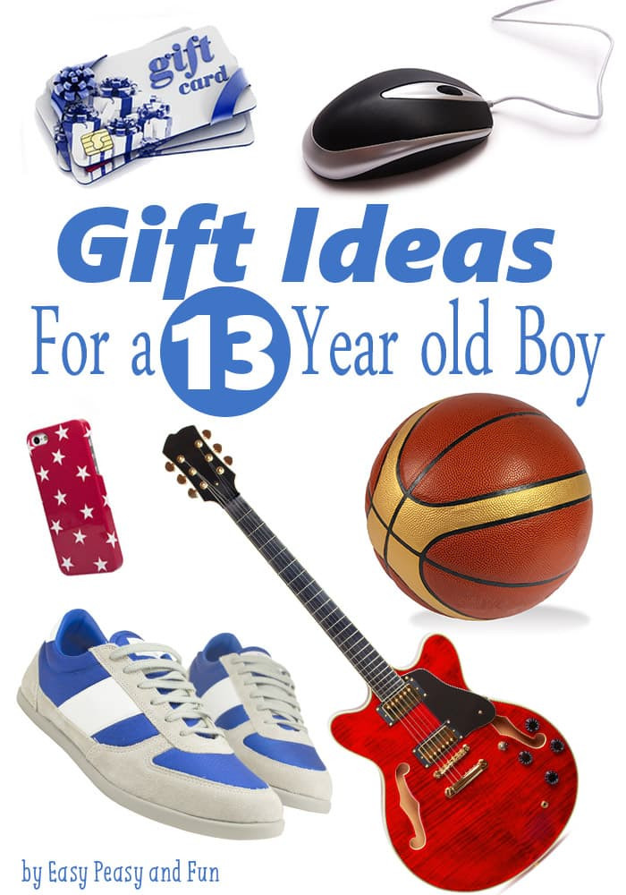 Best ideas about Gift Ideas For 13 Year Old Boys . Save or Pin Best Gifts for a 13 Year Old Boy Easy Peasy and Fun Now.