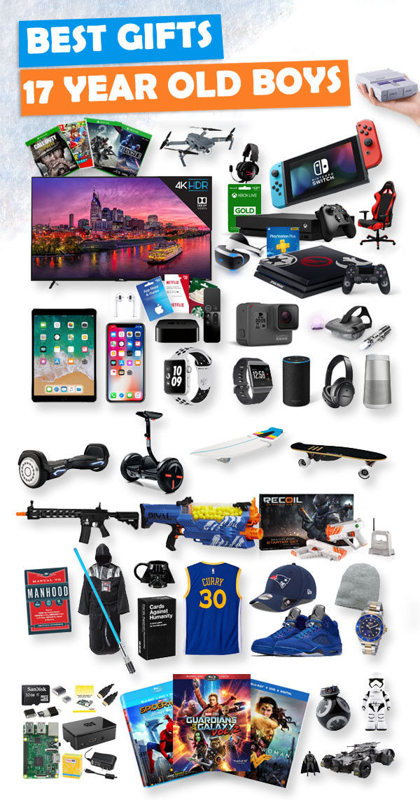 Best ideas about Gift Ideas For 13 Year Old Boys . Save or Pin Gifts For 17 Year Old Boys Now.