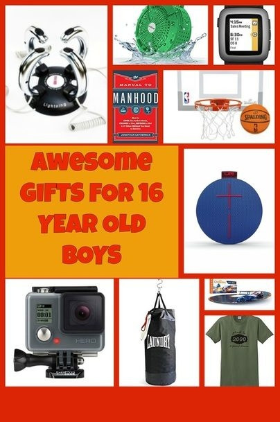 Gift Ideas For 16 Year Old Boys  Cool Christmas Gifts For 16 Year Old Guys
