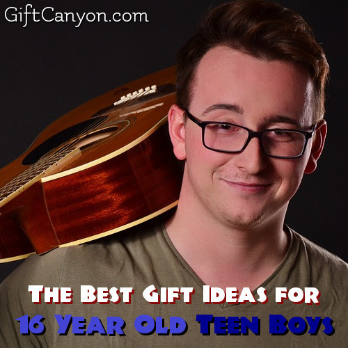 Gift Ideas For 16 Year Old Boys  The Best Gift Ideas for 16 Year Old Boys Gift Canyon