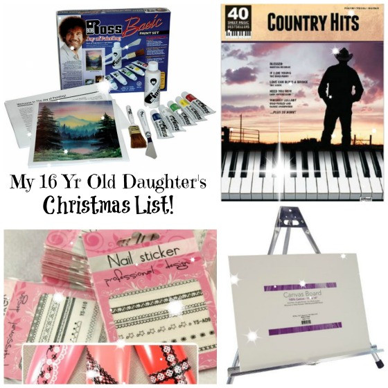 Gift Ideas For 16 Year Old Girls  This is my 15 Year Old Daughter s Christmas List