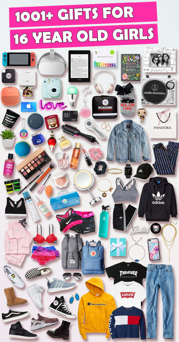 Gift Ideas For 16 Year Old Girls  Sweet 16 Gift Ideas For 16 Year Old Girls [AFFORDABLE]