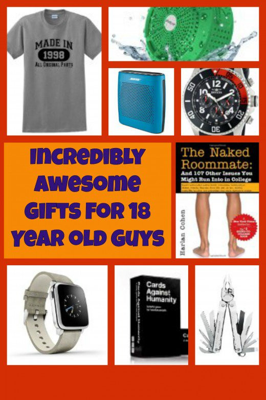 Gift Ideas For 18 Year Old Girls  Incredibly Awesome Gifts for 18 Year Old Boys