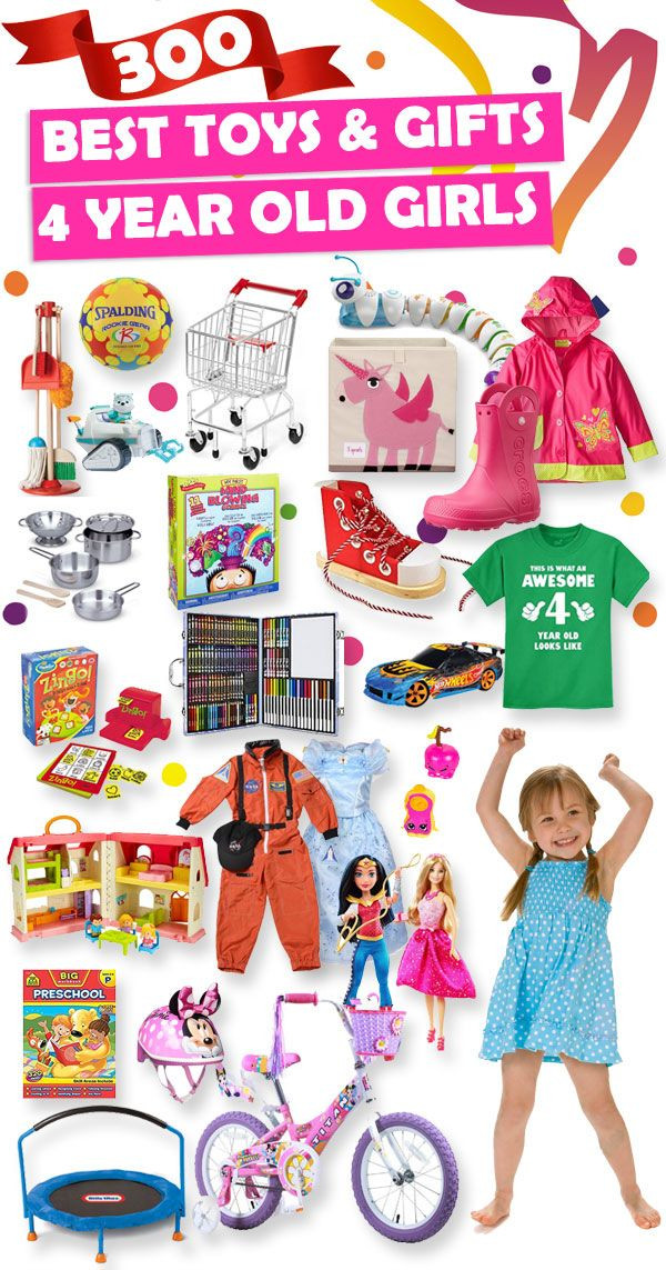Best ideas about Gift Ideas For 4 Year Old Girls . Save or Pin Best Gifts And Toys For 4 Year Old Girls 2018 Now.