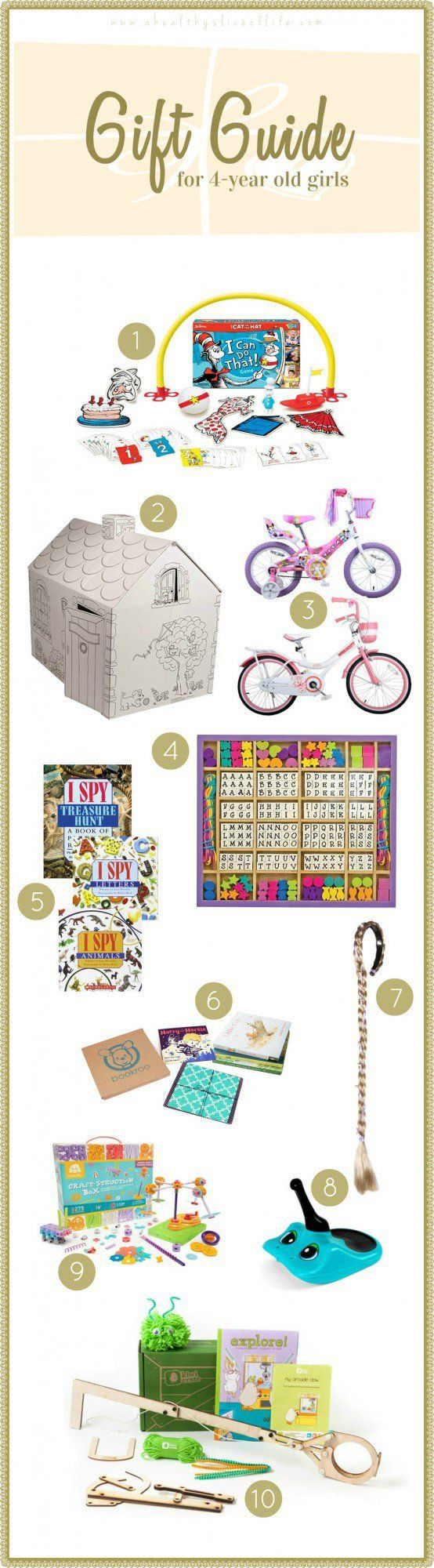 Best ideas about Gift Ideas For 4 Year Old Girls . Save or Pin 1000 ideas about 4 Year Old Girl on Pinterest Now.