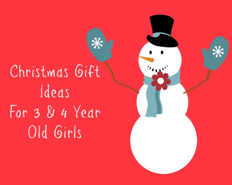 Best ideas about Gift Ideas For 4 Year Old Girls . Save or Pin Christmas Gift Ideas for 3 and 4 Year Old Girls Now.