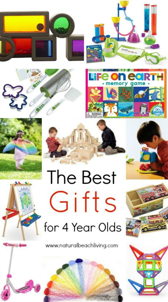 Best ideas about Gift Ideas For 4 Year Old Girls . Save or Pin The Best Gifts for 4 Year Olds Natural Beach Living Now.