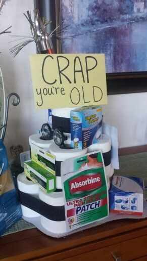 Best ideas about Gift Ideas For 65 Year Old Man . Save or Pin 50th birthday gag t Birthdays Pinterest Now.