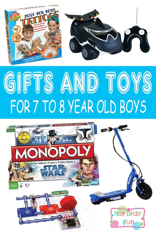 Gift Ideas For 7 Year Old Boys  Best Gifts for 7 Year Old Boys in 2017 Itsy Bitsy Fun