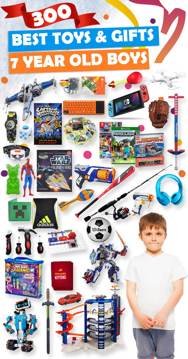 Gift Ideas For 7 Year Old Boys  Best Toys and Gifts for 7 Year Old Boys 2018