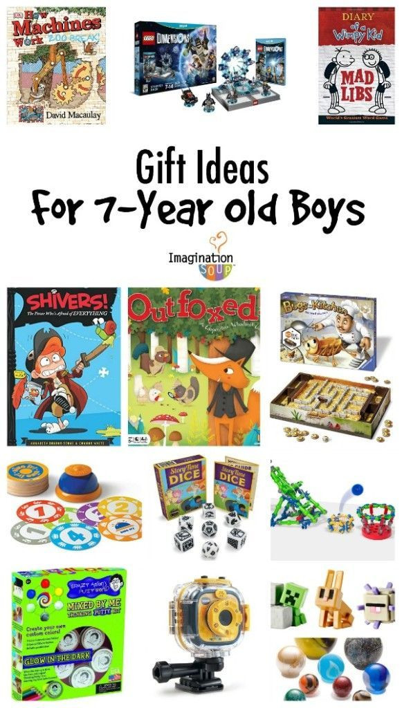 Gift Ideas For 7 Year Old Boys  Gifts for 7 Year Old Boys