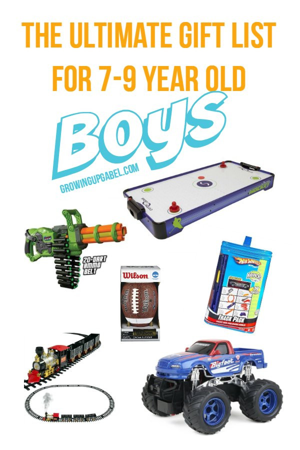 Gift Ideas For 7 Year Old Boys  The Ultimate List of Best Boy Gifts for 7 9 Year Old Boys
