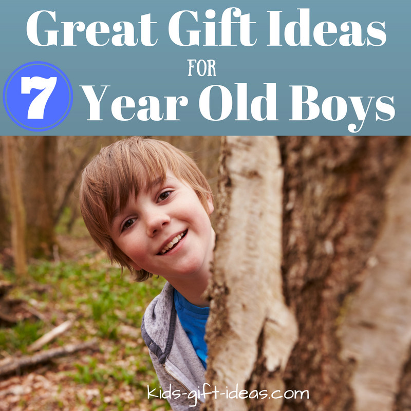 Gift Ideas For 7 Year Old Boys  Great Gifts For 7 Year Old Boys Birthdays & Christmas