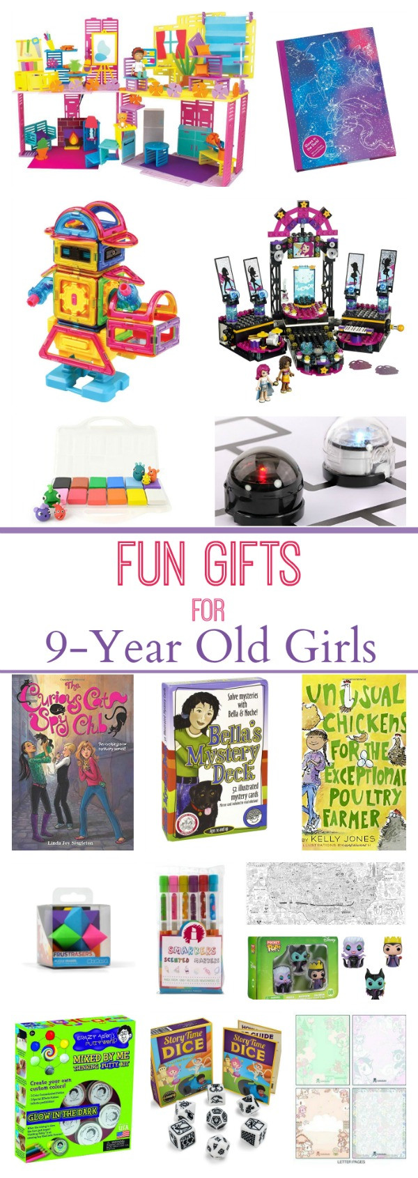 Best ideas about Gift Ideas For 9 Year Old Girls . Save or Pin Gifts for 9 Year Old Girls Now.