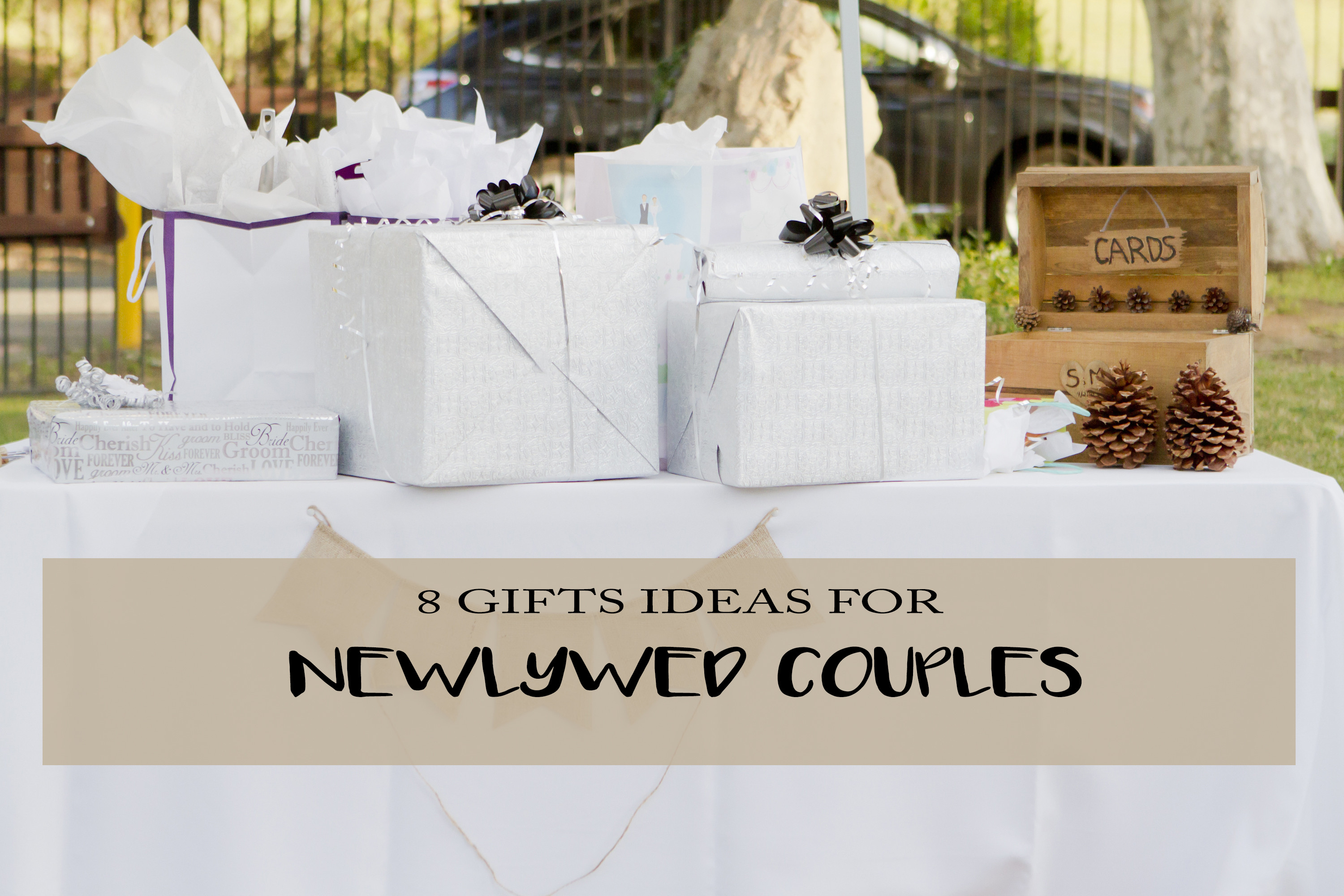 Best ideas about Gift Ideas For A Couple . Save or Pin 8 Gift Ideas Newlywed Couples Will Love Now.