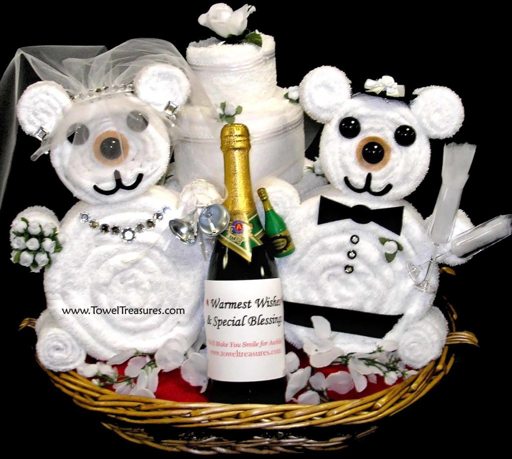Best ideas about Gift Ideas For A Wedding . Save or Pin Best Bridal Shower Gift Basket Ideas Now.
