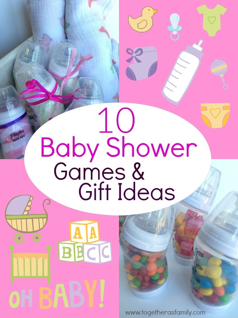 Best ideas about Gift Ideas For Baby Shower Games . Save or Pin 10 Baby Shower Games with Baby Bottles To her as Family Now.