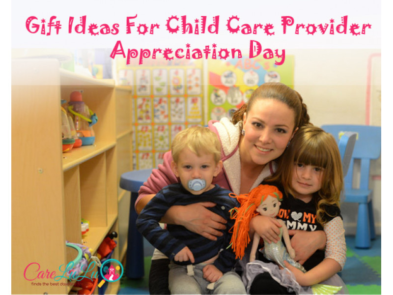 Gift Ideas For Babysitter Daycare Provider  Gift Ideas for Child Care Provider Appreciation Day