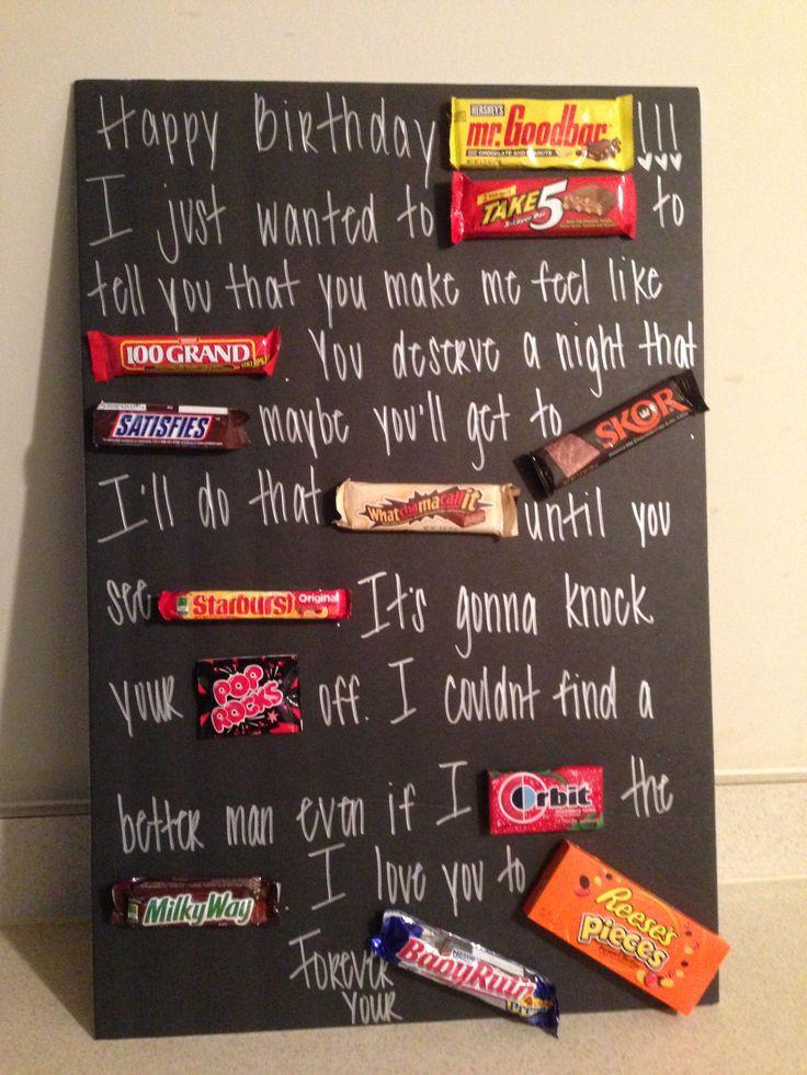 Gift Ideas For Boyfriend Birthday  217 best Gifts for boyfriends images on Pinterest