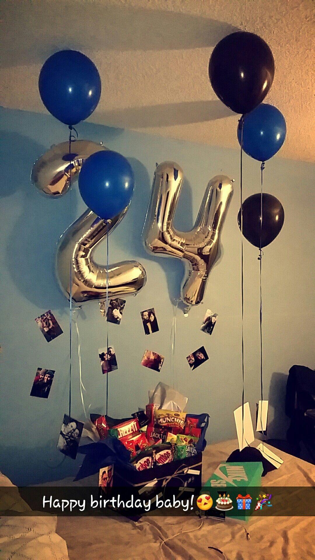 Gift Ideas For Boyfriend Birthday  Birthday Surprise for his birthday